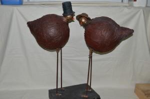 Le couple d'oiseaux 110€