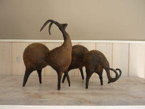 le couple antilopes 90€