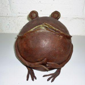 "la grenouille ""bronze"" 80€"
