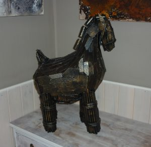 Cheval de Troye, 2 atelier (+ ou - 60 cm H) 195€